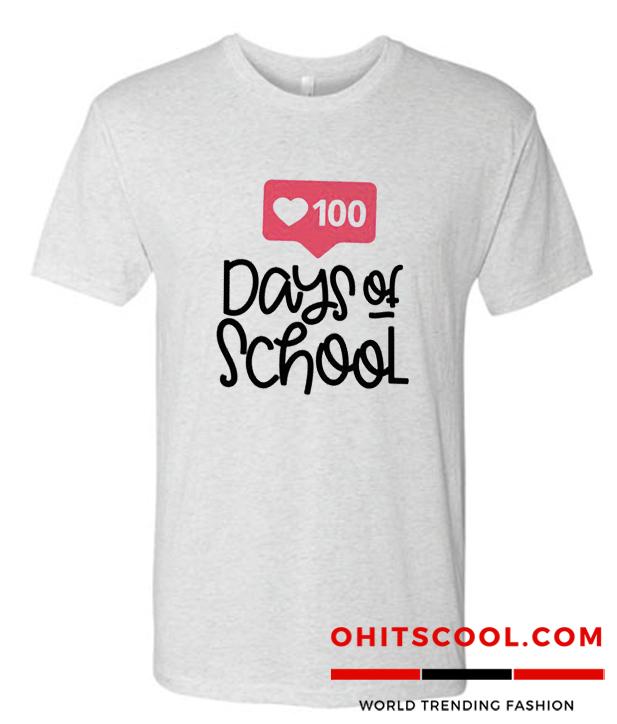 100th day of school teacher Runway Trend shirt