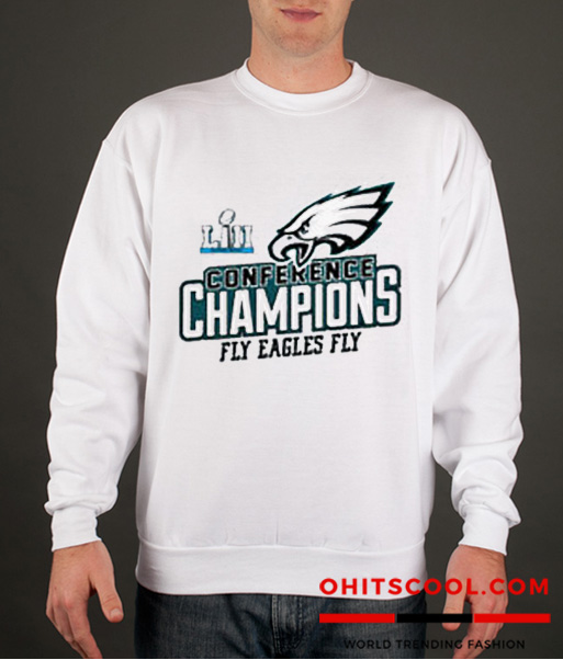 Philadelphia Eagles Conference NFC Champions Runway Trend Swatshirt