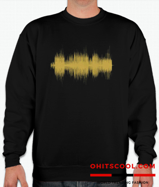 Post Malone Sound Wave Runway Trend Sweatshirt