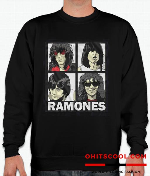 Ramones Hey Ho Let's Go Sweatshirt