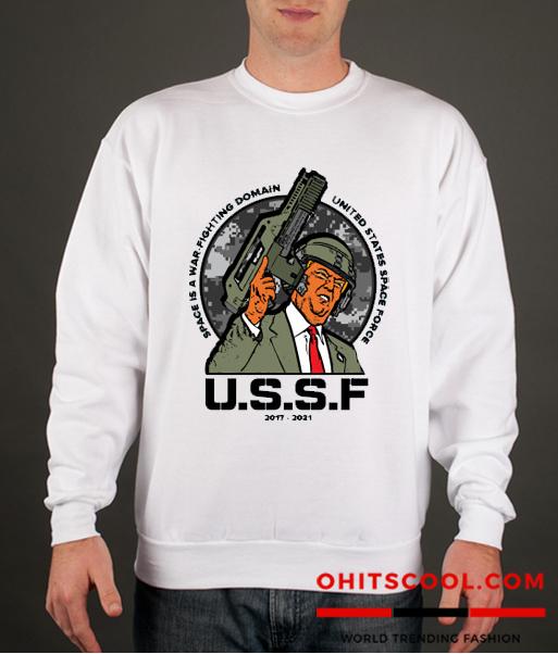 US Space Force Runway Trend Sweatshirts