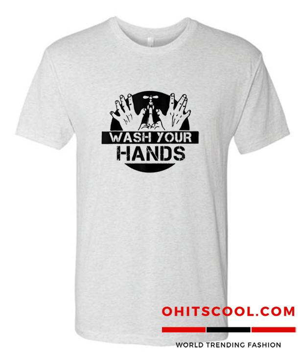 Wash Your Hands Hand Washing Hygiene Runway Trend T Shirt