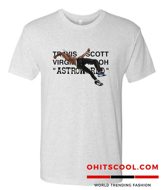 ravis Scott x Virgil Abloh Runway Trend T-Shirt