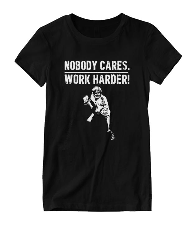 nobody cares work harder - lamar jackson