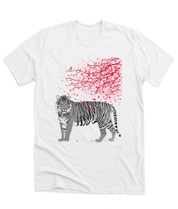 Cherry tree Tiger NL Tshirt