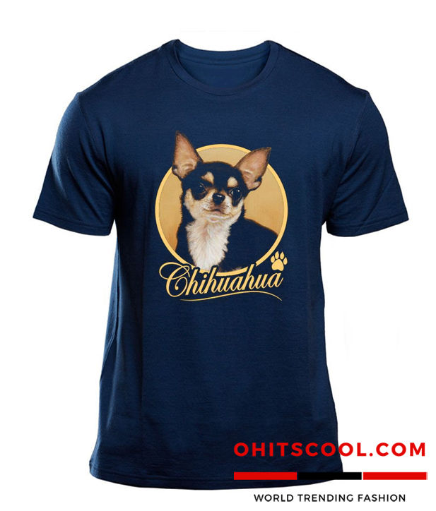 Chihuahua Dog Funny Pet Animal Runway Trend T-shirt
