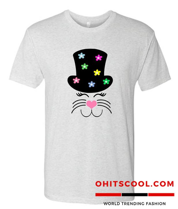 Top Hat Cat Runway Trend t shirt